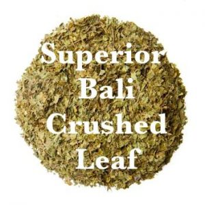 Superior Bali Kratom - Crushed Leaf