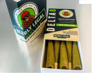 Bearly Legal-pre rolls-Delta 8 THC